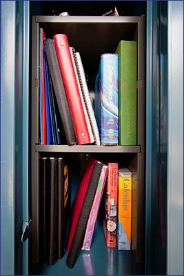 VFMS Locker Shelves